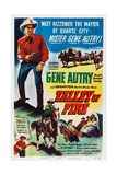 Valley of Fire, Gene Autry, 1951 Posters
