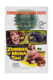Zombies of Mora Tau, Autumn Russell, Gregg Palmer, 1957 Posters