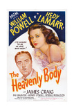 The Heavenly Body, from Left: William Powell, Hedy Lamarr, 1944 Giclee Print