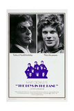 The Boys in the Band, from Left: Leonard Frey, Robert La Tourneaux, 1970 Poster