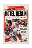 Hotel Berlin, Center: Faye Emerson; Below: Peter Lorre, 1945 Prints