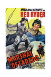Marshal of Laredo, from Left: Bill Elliott, Robert Blake, 1945 Posters