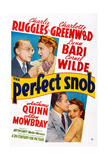 The Perfect Snob, 1941 Posters