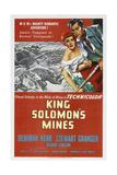 King Solomon's Mines, Deborah Kerr, Stewart Granger, 1950 Prints
