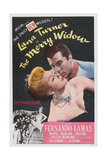 The Merry Widow, L-R: Lana Turner, Fernando Lamas, 1952 Posters
