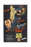 The Girl Hunters, Bottom Left: Mickey Spillane, Top Center: Shirley Eaton, 1963 Posters