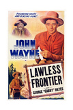 The Lawless Frontier, 1934 Poster