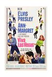 Viva Las Vegas, from Left, Elvis Presley, Ann-Margret, 1964 Poster