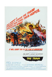 The Train, Burt Lancaster, Paul Scofield, 1964 Print