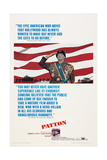 Patton, George C. Scott, 1970 Poster