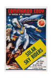 Commando Cody: Sky Marshal of the Universe, Chapter 10: 'Solar Sky Riders,' 1953 Posters