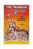 The Warrior and the Slave Girl, (Aka La Rivolta Dei Gladiatori), 1958 Poster