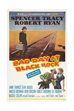 Bad Day at Black Rock, Spencer Tracy, Robert Ryan, Anne Francis, 1955 Prints