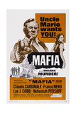 Mafia, from Left, Lee J. Cobb, Claudia Cardinale, 1968 Prints