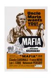 Mafia, from Left, Lee J. Cobb, Claudia Cardinale, 1968 Prints