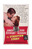 The Stratton Story, James Stewart, June Allyson, 1949 Prints