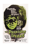 The Phantom Speaks, Stanley Ridges (Left), Right from Top: Richard Arlen, Lynne Roberts, 1945 Print