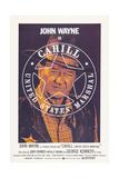 Cahill U.S. Marshal, (Aka Cahill: United States Marshal), John Wayne, 1973 Prints