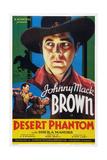 Desert Phantom, Johnny Mack Brown, 1936 Print