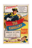 7th Cavalry, (Aka Seventh Cavalry), 1956 Prints