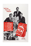 Made in Paris, from Left: Chad Everett, Ann-Margret, Richard Crenna, Louis Jourdan, 1966 Giclee Print