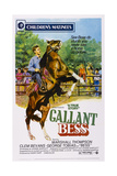 Gallant Bess, Marshall Thompson, 'Silvernip,' the Horse, 1946 Posters