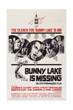 Bunny Lake Is Missing, Laurence Olivier (Left), Keir Dullea (Center), 1965 Print