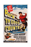 Back to God's Country, 1953 Posters