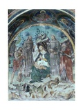 Madonna of Humility and Child with Saints Prints by Stefano Folchetti