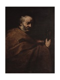 Saint Peter Prints by Jusepe de Ribera