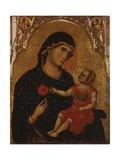 Wiesen-Madonna Kunstdruck von Paolo Veneziano