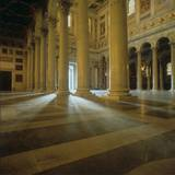 Play of Sunlight Between Columns, St. Paul Outside the Walls Photo by Belli Pasquale