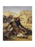 The Adopted Child in the Desert, 1848 Giclee Print by Horace Vernet