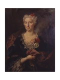 Portrait of a Lady Art by Nicolas de Largilliere