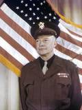 General Dwight Eisenhower, Supreme Commander Allied Expeditionary Force. Ca. 1943, World War 2 Photo