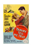 Tammy Tell Me True, from Left: Sandra Dee, John Gavin, 1961 Art
