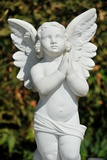 Sculpture of an Angel Prints by Frank May