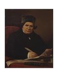 Posthumous Portrait of Writer Giovanni Battista Niccolini Posters by Stefano Ussi
