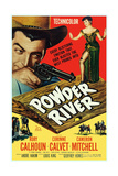 Powder River, from Left: Rory Calhoun, Corinne Calvet, 1953 Prints