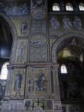 Mosaics of Monreale Cathedral, with Jesus Crowning King William II Posters