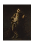 Young Shepherd Leaning on a Stick, C. 1735 Prints by Pietro Longhi