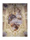 Allegoric Ceiling with Angels Prints by Francesco Zugno
