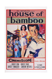 House of Bamboo, from Center: Shirley Yamaguchi, Robert Ryan, 1955 Prints