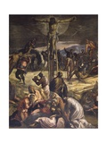Crucifixion (Detail) Posters by Jacopo Robusti Tintoretto