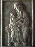 Madonna with Child, known as Hodighitria, 11th C. Trani, Italy Photo
