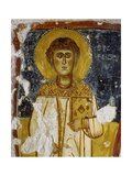 Saint Stephen Holding Book, 11th C Poster