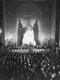 Unveiling of the George Washington Statue, at the National Masonic Memorial Photo