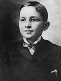 Harry Truman, the 33rd President of the U.S. at Age 8. Ca. 1892 Photo
