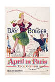 April in Paris, Doris Day, Ray Bolger, 1953 Posters