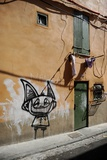 Graffiti on the Wall of a House in Perpignan Photo by Frank May
